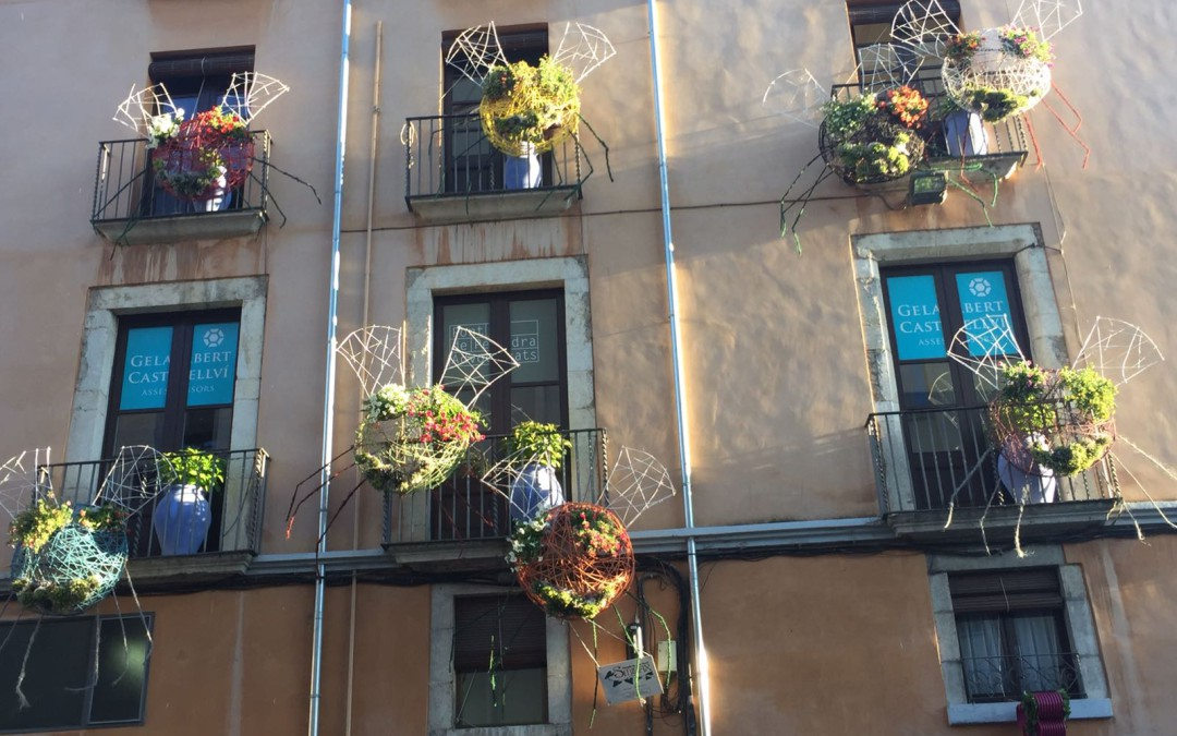 Gelabert Castellví participa activament en el temps de flors, Girona 2017